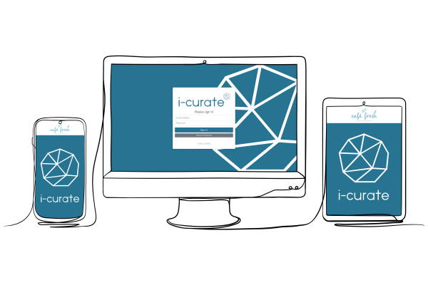 i-curate ordering